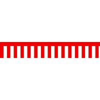 ササガワ ラウンドシート 紅白幕 40-7500 (取寄品)