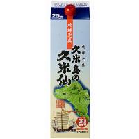 久米仙 泡盛 パック 25度 1800ml