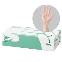アスクルビニール手袋 L 粉なし