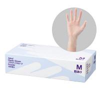 アスクルビニール手袋 M 粉付き