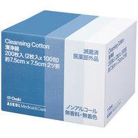 オオサキメディカル 清浄綿 スキンフレッシュ 95188 1箱(100包入)
