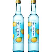 澄みわたる柚子酒 500ml×2本 サントリー