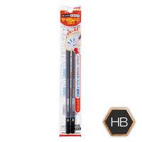 三菱鉛筆 uniマークシート用鉛筆 HB UMS2PHB 1パック(2本入)