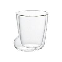 石塚硝子 耐熱二層ソックスグラスS 210ml 口径79×高さ90mm 1セット(3個) (取寄品)
