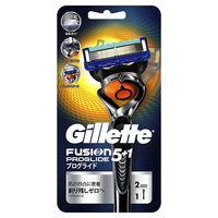 ジレット プログライド フレックスボール マニュアル 髭剃り 本体 替刃2個付
