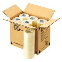 「現場のチカラ」 OPPテープ 透明梱包用テープ 0.05mm厚 48mm×100m アスクル 1セット(72巻:36巻入×2箱)