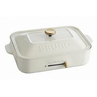 BRUNO コンパクトホットプレート 白 BOE021-WH  1台