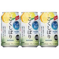 こくしぼり レモンライム350ml×3缶