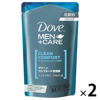 ダヴ(Dove) クリーンコンフォート泡洗顔 詰替 110mL 1セット(2個) ユニリーバ