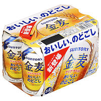サントリー 金麦クリアラベル350ml×6缶