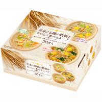 インスタント 玄米と5種の穀物をおいしく食べるスープ 1箱(30食入) ひかり味噌