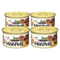 MonPetit SELECTION(モンプチ セレクション) キャットフード ロースト若鶏 85g 1セット(4缶入)