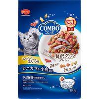 COMBO(コンボ) キャットフード まぐろ味・カニカマ 140g 1個(5袋) 日本ペットフード