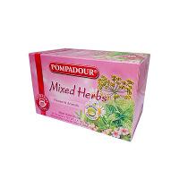 ポンパドール トラディショナルミックスハーブティー 1箱(20バッグ入) 日本緑茶センター
