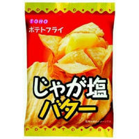 東豊製菓 ポテトフライ じゃが塩バター 1箱(11g×20袋入)