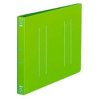 フラットファイルPP製A5横 黄緑10冊