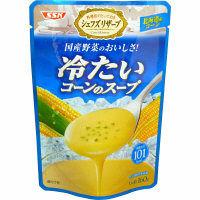 冷たいコーンのスープ1食