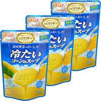 冷たいコーンのスープ3食