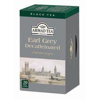 AHMAD TEA デカフェアールグレイ 1箱(20バッグ入)