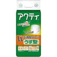 アクティ Wで消臭パンツうす型タイプ L-LL 1パック(14枚入) 日本製紙クレシア