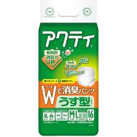 アクティ Wで消臭パンツうす型タイプ M-L 1パック(16枚入) 日本製紙クレシア