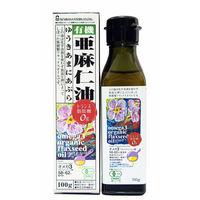 紅花食品 有機亜麻仁油 100g アマニ油