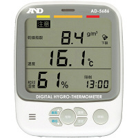 エー・アンド・デイ A&D 環境温湿度計 AD-5686