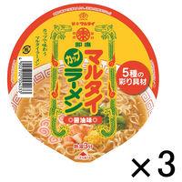 マルタイ カップ・マルタイラーメン醤油味 82g 1セット(3食入)