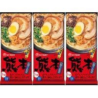 マルタイ 熊本黒マー油とんこつラーメン186g 1セット(2人前×3個入)