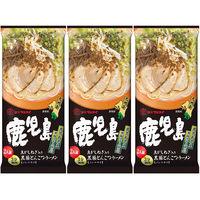 マルタイ 鹿児島黒豚とんこつラーメン 豚骨味 185g 1セット(2人前×3個入)