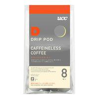 UCC上島珈琲 DRIPPOD(ドリップポッド)カフェインレスコーヒー 1パック(8個入)