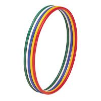 トーエイライト 体操リング80(5色1組) 内径80cm T2867 1セット(5個入) (取寄品)