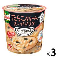 味の素 クノール スープDELI たらこクリーム 1セット(3個)