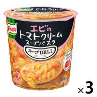 味の素 クノール スープDELI エビのトマトクリームスープパスタ 1セット(3個)