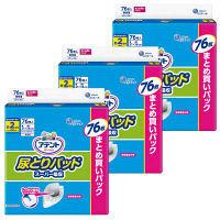 大王製紙 アテント尿とりパッドスーパー吸収 男性用 763980 1箱(76枚入×3パック)