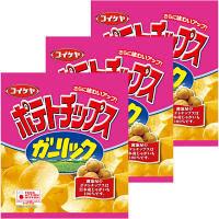 コイケヤ ポテトチップス ガーリック3袋