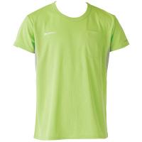 フットマーク×ファイテン 介護ウェア Tシャツ グリーン S (取寄品)