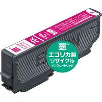 エコリカ リサイクルインク ECI-E70L-M マゼンタ(大容量)(エプソン ICM70L互換) IC70シリーズ