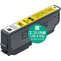 エコリカ リサイクルインク ECI-E70L-Y イエロー(大容量)(エプソン ICY70L互換) IC70シリーズ