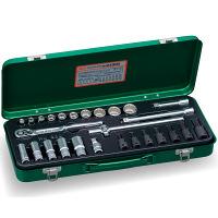 ミックスソケットレンチセット 3分(9.5mm) MX300 1セット TONE (直送品)