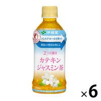 【トクホ・特保】伊藤園 2つの働き カテキンジャスミン茶 350ml 1セット(6本)