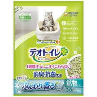 デオトイレ 香る消臭 抗菌サンド 3.8L 猫砂 ユニ・チャーム