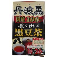 丹波黒100%黒豆茶 6g×26包入 大阪ぎょくろえん 健康茶 お茶