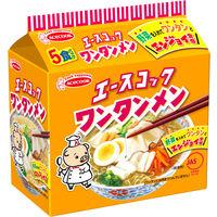 エースコック (袋)ワンタンメン 5食パック 475g(95g×5食) 1袋(5食入)