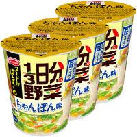インスタントスープ ヌードルはるさめ 1/3日分の野菜ちゃんぽん味 43g 1セット(3食入) エースコック