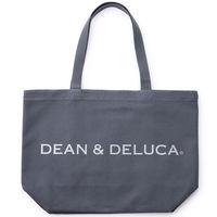 DEAN&DELUCA(ディーンアンドデルーカ) トートバッグ チャコールグレー L