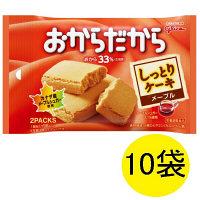 おからだから(メープル) 1箱(10袋入) 江崎グリコ 栄養補助食品