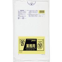 ジャパックス 業務用ポリ袋90L 半透明 0.050mm P99 1パック(10枚入)