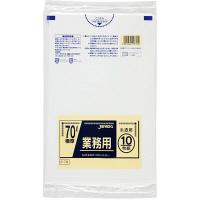 ジャパックス 業務用ポリ袋70L 半透明 0.050mm P79 1パック(10枚入)