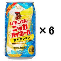 ニッカハイボール缶350ml×6缶